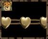 PdT HeartOfGoldArmband L