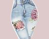 E* Flowers Jeans  RL
