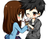 Chibi Anime Couple