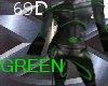 {69D} X-Squad Suit GREEN