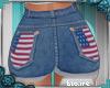 e Mom 4th July Shorts