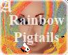 Rainbow Pigtails Unisex