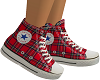 Red Plaid Converse FEM