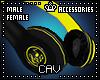 Yellow Headphones M/F