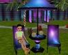 neon pool chairs