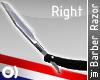 jm| Barber Razor (Right)