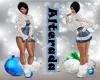CrystalFlake Dress