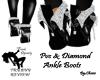 PVC & Diamond Ankle Boot
