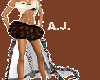 brown sexy outfit *AJ*