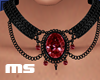 MS Vampire Ruby Necklace