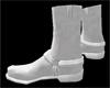 :) Cowboy Boots White