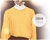 Lace Collar Sweater Sun