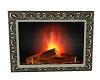 elegant  wall fireplace