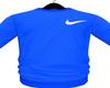 M. Blue Nikey Jumper