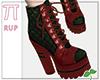 |Pi| Green Boots