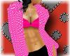 [A4] pink rain coat
