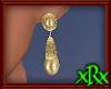 Vintage Gold Earrings