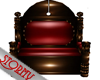 COUPLE THRONE RED