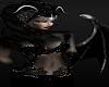 Horned Dark Black Demon