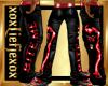 [L] BITE ME Red Pants M