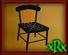 Wood Spider Chair Orange