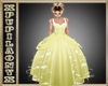 YELLOW KID PRINCESS DRES