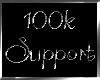 100k Support Sticker