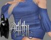 sweater dress blue XL