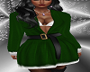 FG~ Holiday Green Dress