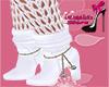Mayla  boots white