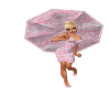 PD Pink Lace Parasol