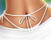 f. DRV white waist bow