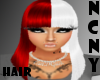 NCNY*RED/WHITE NICKI M 3