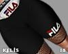 K. FILA Shorts Red RLL