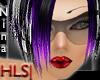 HLS Nina-Short PurpleMIX
