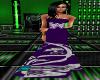 {B} Purple N Silver Gown