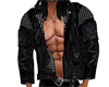 leather no shirt jacket