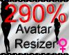 *M* Avatar Scaler 290%