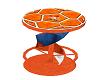 Oranje Soccer Stool