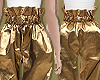 Gold Foil Paperbag Pants