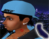 Blue  Hat/Do-Rag
