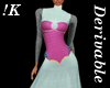 !K! Spiked Corset Gown