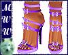 Lilac Butterfly Heels
