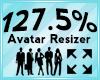 Avatar Scaler 127.5%