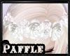 P| Flower Crown White