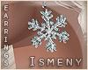 [Is] Snowflake Earrings