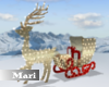 !M! Xmas Reindeer Sleigh