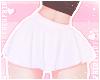 F. Simple Skirt White