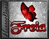 FREIA bday butterfly