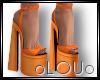 .L. Bek Heels Orange